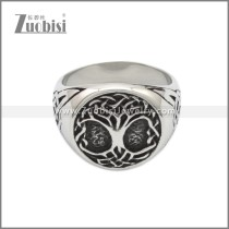 Stainless Steel Ring r008814SA
