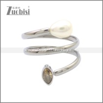 Stainless Steel Ring r008793S