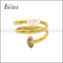 Stainless Steel Ring r008793G