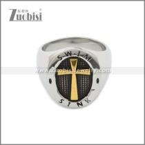Stainless Steel Ring r008809SAG