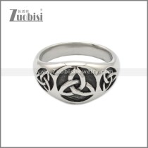 Stainless Steel Ring r008839SA