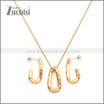 Stainless Steel Jewelry Sets s002965R