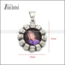 Stainless Steel Pendant p011054S12