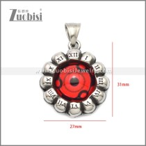 Stainless Steel Pendant p011054S8
