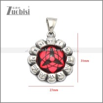 Stainless Steel Pendant p011054S6