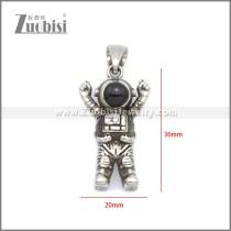 Stainless Steel Pendant p011065SA
