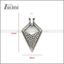 Stainless Steel Pendant p011081SA