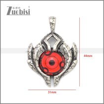 Stainless Steel Pendant p011055S6
