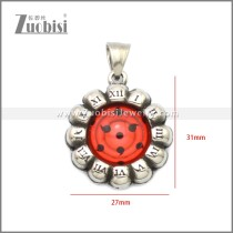 Stainless Steel Pendant p011054S7