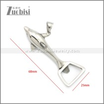 Stainless Steel Pendant p011083S