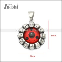 Stainless Steel Pendant p011054S10