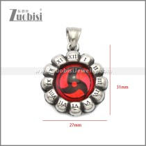 Stainless Steel Pendant p011054S11