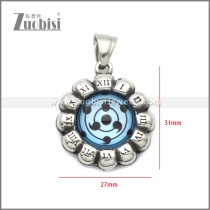 Stainless Steel Pendant p011054S5