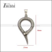 Stainless Steel Pendant p011078SA