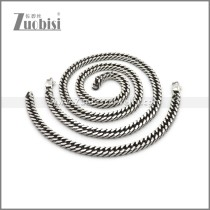 Stainless Steel Jewelry Sets s002971SW7