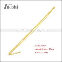 Stainless Steel Bracelets b010105G