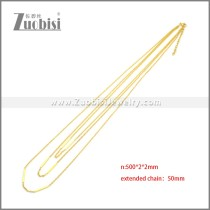 Stainless Steel Necklaces n003204G