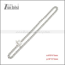 Stainless Steel Necklaces n003207S