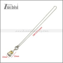 Stainless Steel Necklaces n003236S2