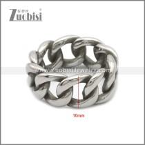 Stainless Steel Rings r008859SA