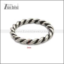 Stainless Steel Rings r008855SH