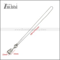 Stainless Steel Necklaces n003236S1
