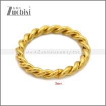 Stainless Steel Rings r008855G