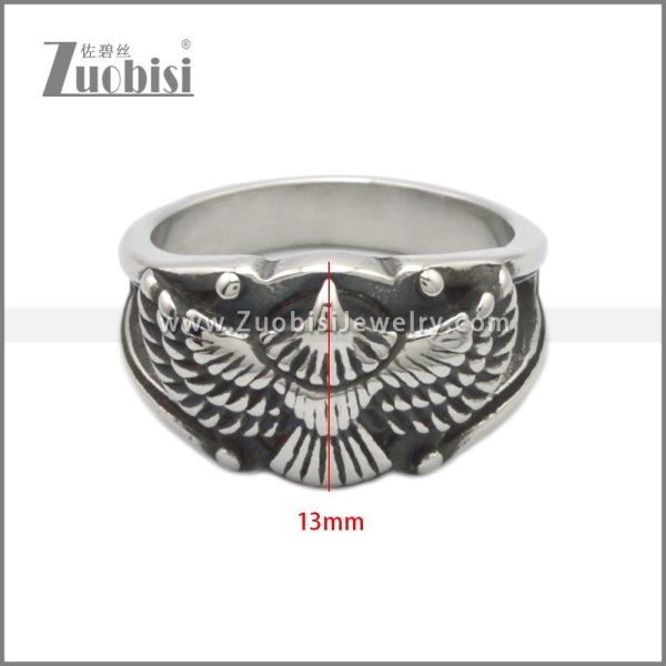 Stainless Steel Ring r008884SA