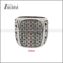 Stainless Steel Ring r008871SA