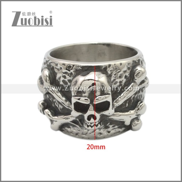 Stainless Steel Ring r008882SA
