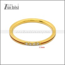 Stainless Steel Ring r008866G