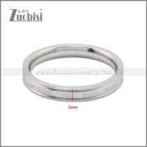 Stainless Steel Ring r008864S