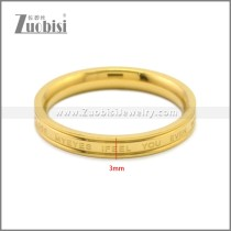 Stainless Steel Ring r008864G