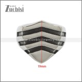 Stainless Steel Ring r008875SA