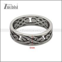 Stainless Steel Ring r008897SA