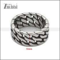 Stainless Steel Ring r008889SA