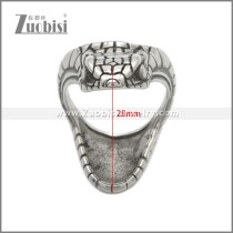 Stainless Steel Ring r008886SA