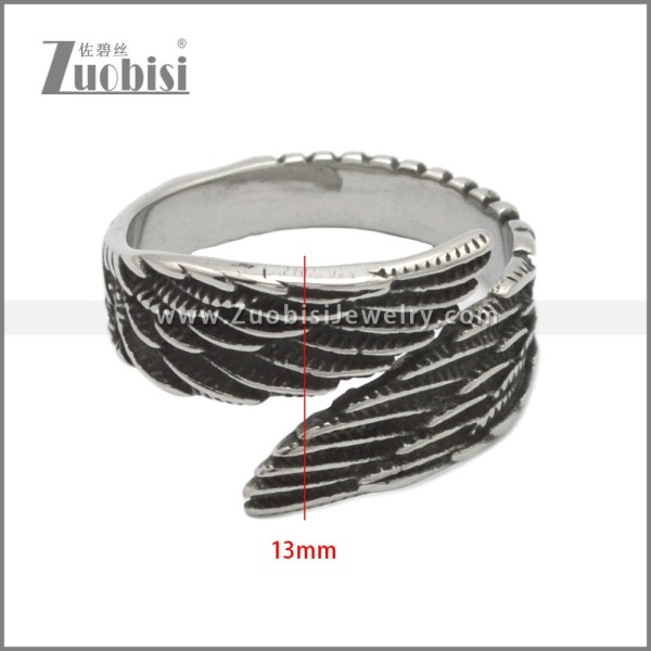 Stainless Steel Ring r008892SH