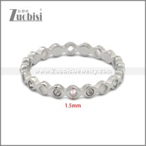 Stainless Steel Ring r008893S