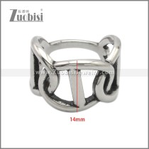 Stainless Steel Ring r008896SA
