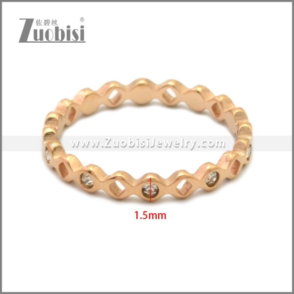Stainless Steel Ring r008893R