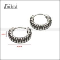Stainless Steel Earring e002237SA