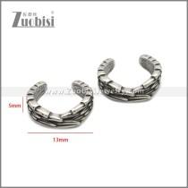 Stainless Steel Earring e002222SA