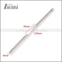 Stainless Steel Bracelet b010117S