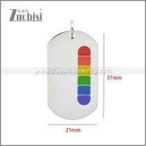 Stainless Steel Pendant p011107S