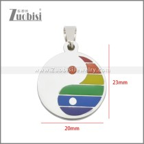 Stainless Steel Pendant p011110S