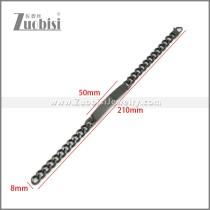 Stainless Steel Bracelet b010117H