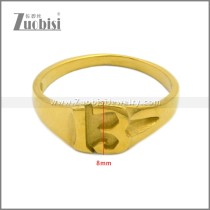 Stainless Steel Ring r008908G
