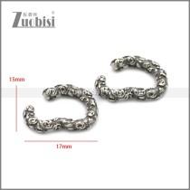 Stainless Steel Earring e002215SA