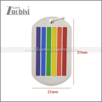 Stainless Steel Pendant p011105S